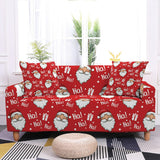 2020 New Sofa Decor Elastic Sofa Cover For Living Room Stretch Non-slip Couch Cover Santa Claus Sofa Slipcover Chair Protector
