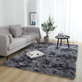 Nordic Motley Tie-Dye Gradient Carpet 120x160cm Living Room Rectangular Area Rug Washable