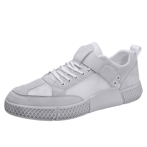 LudBA Originals© Men's Lace-up Khaki Athletic Lightweight Sneakers - Dealfactor Canada
