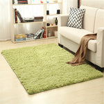 Living Room Area Rug Floor Mat Solid Carpet Fluffy Soft Home Deco