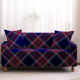 Plaid Stretch Sofa Cover Sofa Slipcovers Sectional Couch Cover Sofa Set