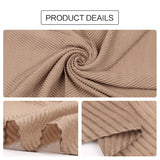 Large Size TR Cotton Pleated Crinkle Women's Scarf Hijab Muslim Head Wrap