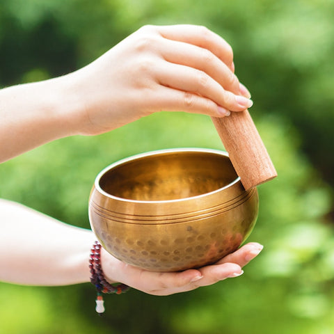 Nepalese Tibetan Meditation Bowl for Spiritual Healing Purposes Yoga Meditation - Dealfactor Canada