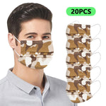50/100/200 PC Adult Disposable Face Mask 3Ply Ear Loop Protection Mask Facemask