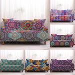 Bohemia Slipcovers Sofa Cover Mandala Pattern