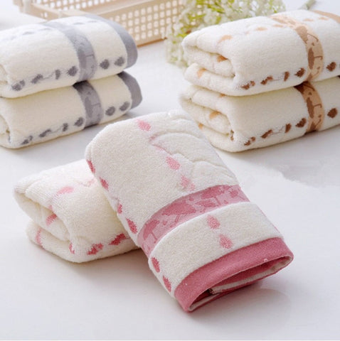 Absorbent Soft Washcloth The Bath Pure Cotton Siege Back Word Bath Washers Hand Cloth Towels