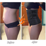 S-3XL Waist Trainer Belt Zipper Hook Body Protector For Men & Women - Dealfactor Canada