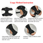 1 PC Plantar Fasciitis Night Splint Ankle Brace Support Foot Orthosis - Dealfactor Canada