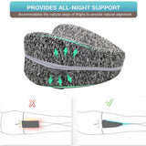 Orthopedic Pillow for Sleeping Memory Foam Leg Positioner Pillows Knee Support