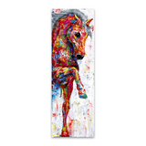 Wall Art Horse Canvas Print Painting Wall Art 60x100cm For Bedroom Hallway Home Décor