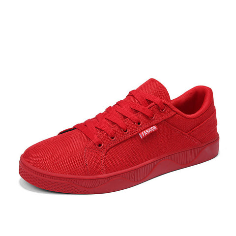 running shoe - LudBA Originals© Men's Casual Shoes Red Black Lightweight