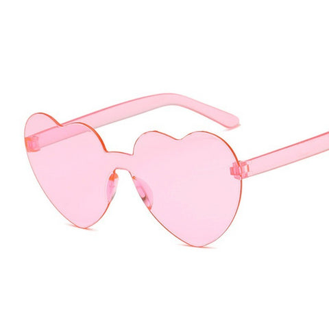 Transparent Plastic Glasses Style Clear Candy Color