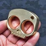 Bring a Big Punch to Your Defense with Classic Brass Knuckles