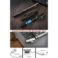 B-05 Aluminium Tactical Pen Light - Cakra EDC Gadgets
