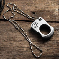 brass knuckles self defense real - Cakra EDC Gadgets