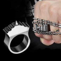 Bumblebee Spiked Brass Knuckles - Cakra EDC Gadgets