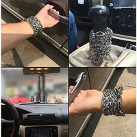 Dragon Head Full Stainless Steel Self Defense Bracelet Jewelry - Cakra EDC Gadgets
