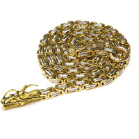 Golden Dragon Full Stainless Steel Self Defense Chain - Cakra EDC Gadgets