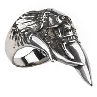 Skull&Olecranon Full Stainless Steel Women's Self Defense Products - Cakra EDC Gadgets