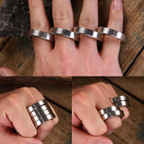 Zinc Alloy Folding Brass Knuckles Self Defense Tools For Women - Cakra EDC Gadgets
