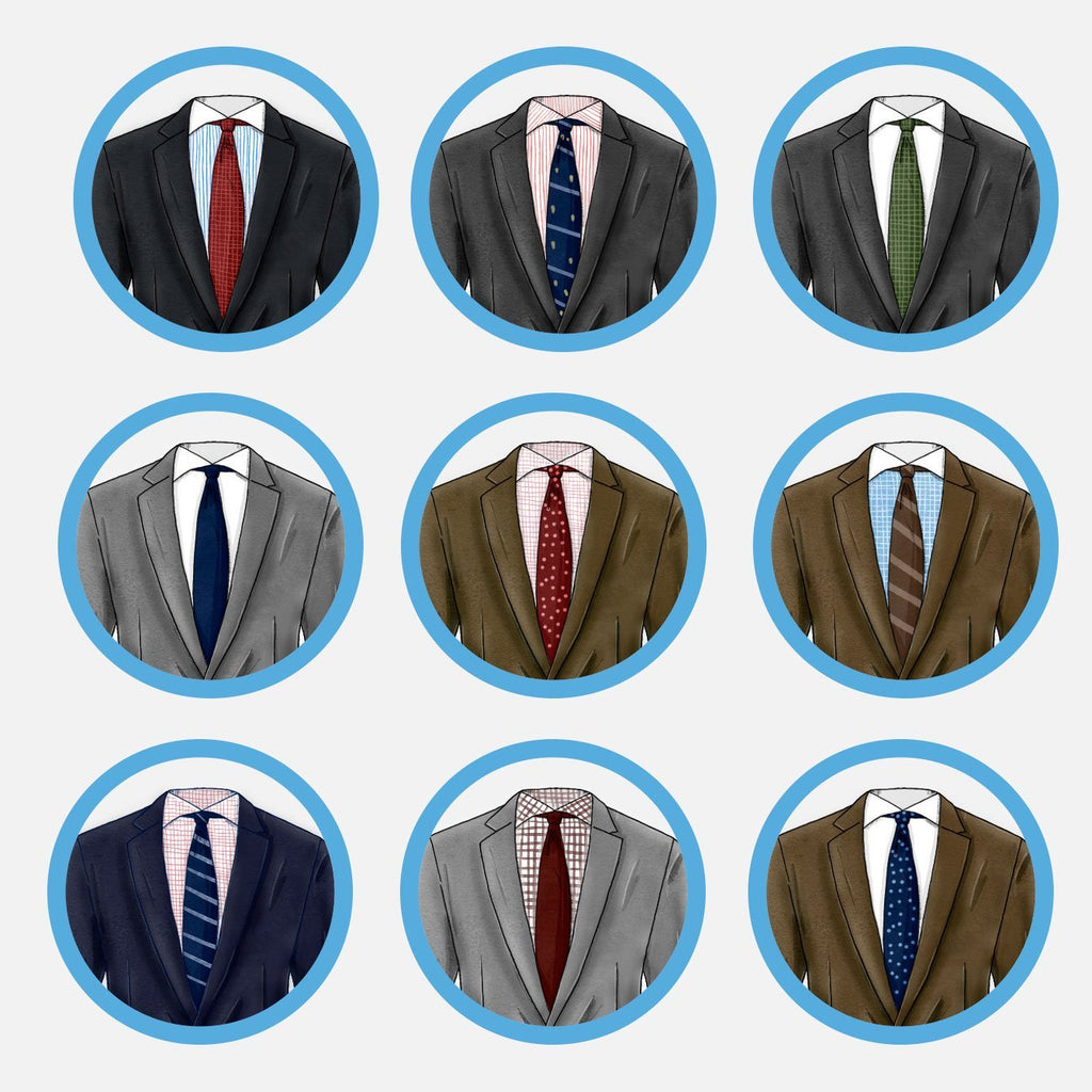 How To Match Suits Shirts And Ties Like A Pro Beckett Simonon