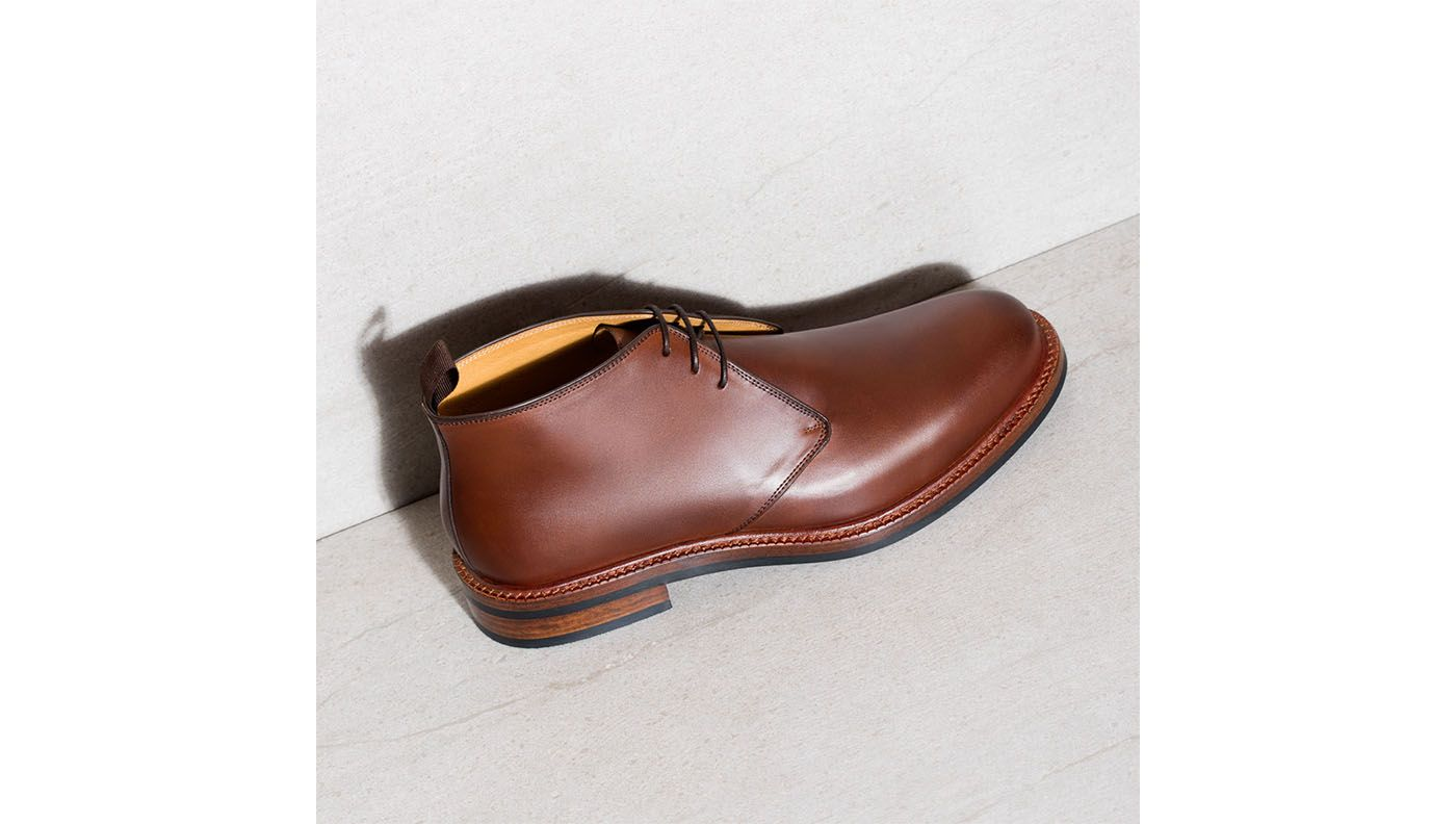 Laval Chukka Boots - Brown