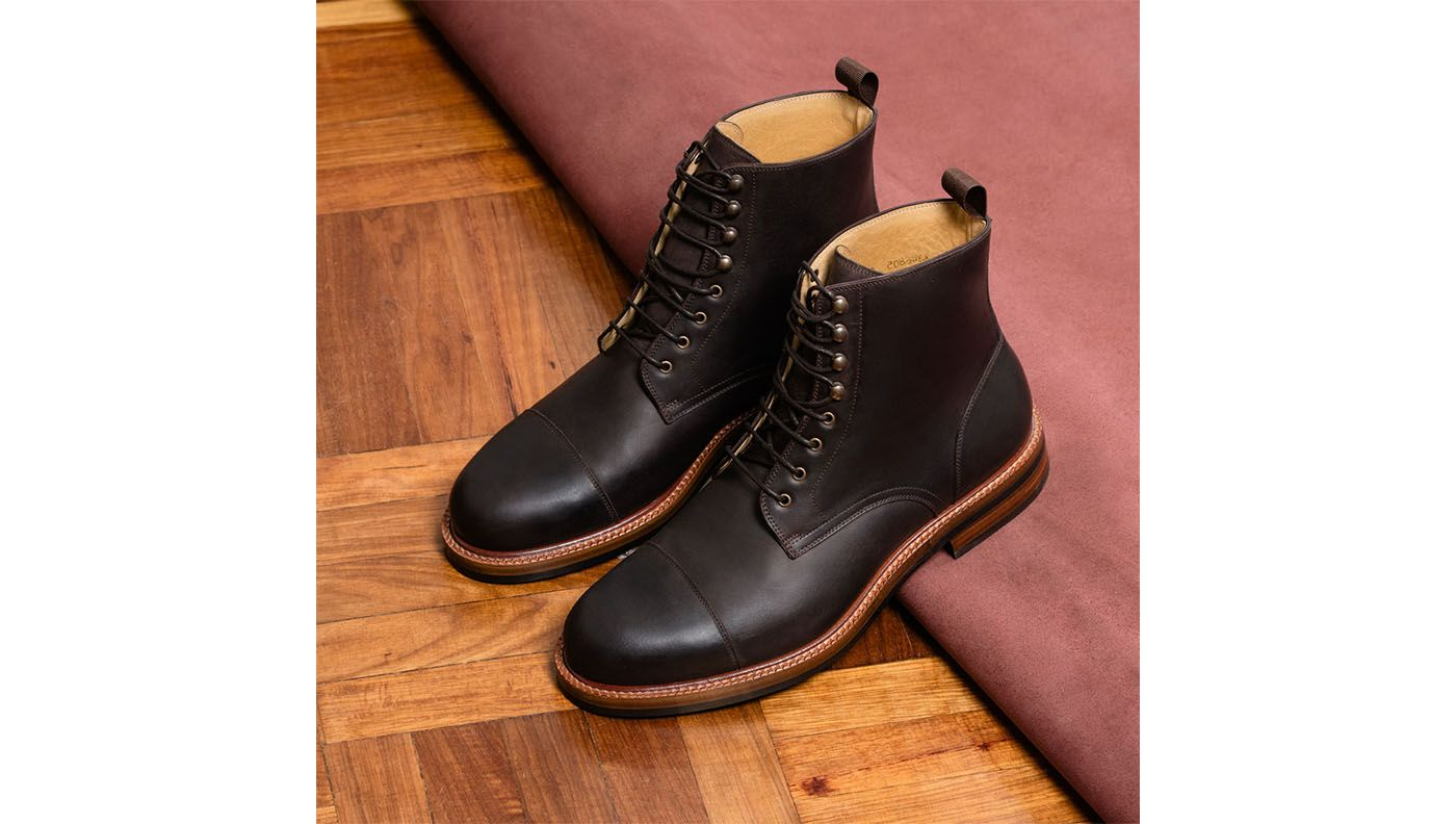 Dowler Boots - Pull-Up Leather