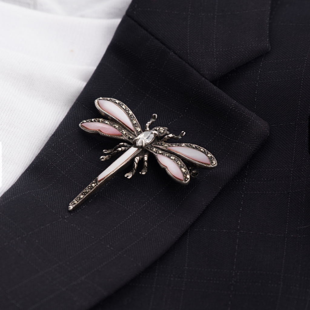 antique-dragonfly-pin