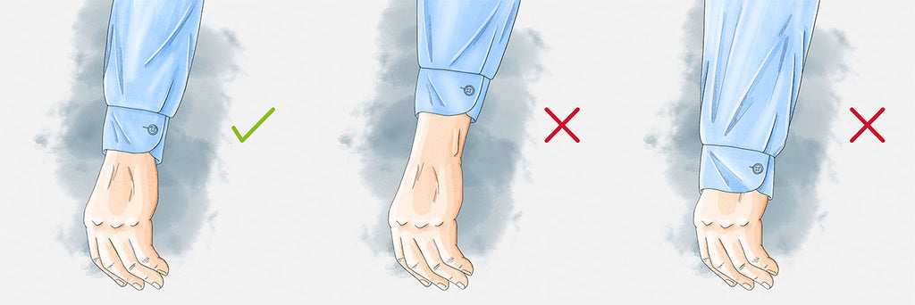 How-should-a-dress shirt-fit-sleeve-length