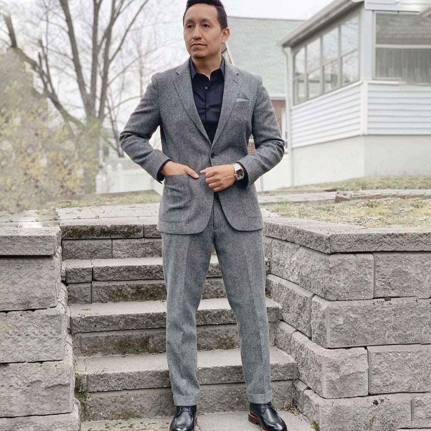 wool trousers for men