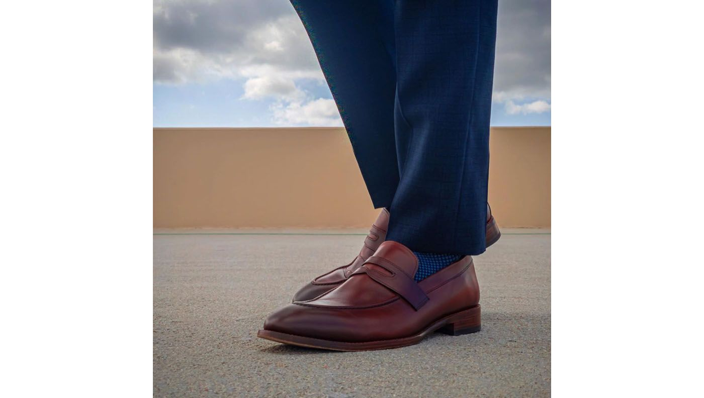 beckett simonon loafers with socks