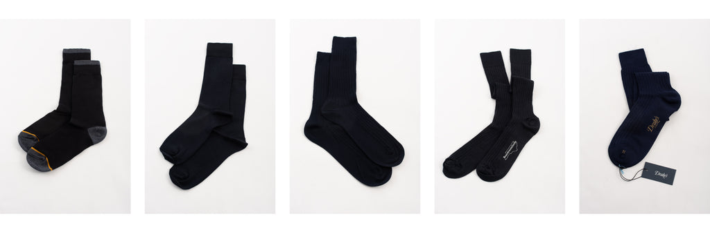 4457ff4398cc Brands reviewed: Gold Toe, Buttoned Down, Zara, Boardroom and Drake's. Dress  socks for men.