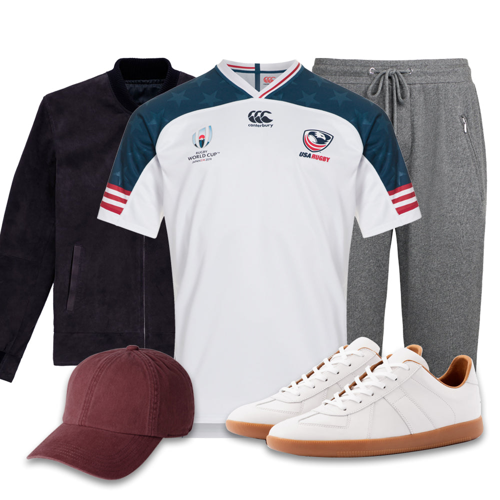 Modern Eagles rugby jersey look