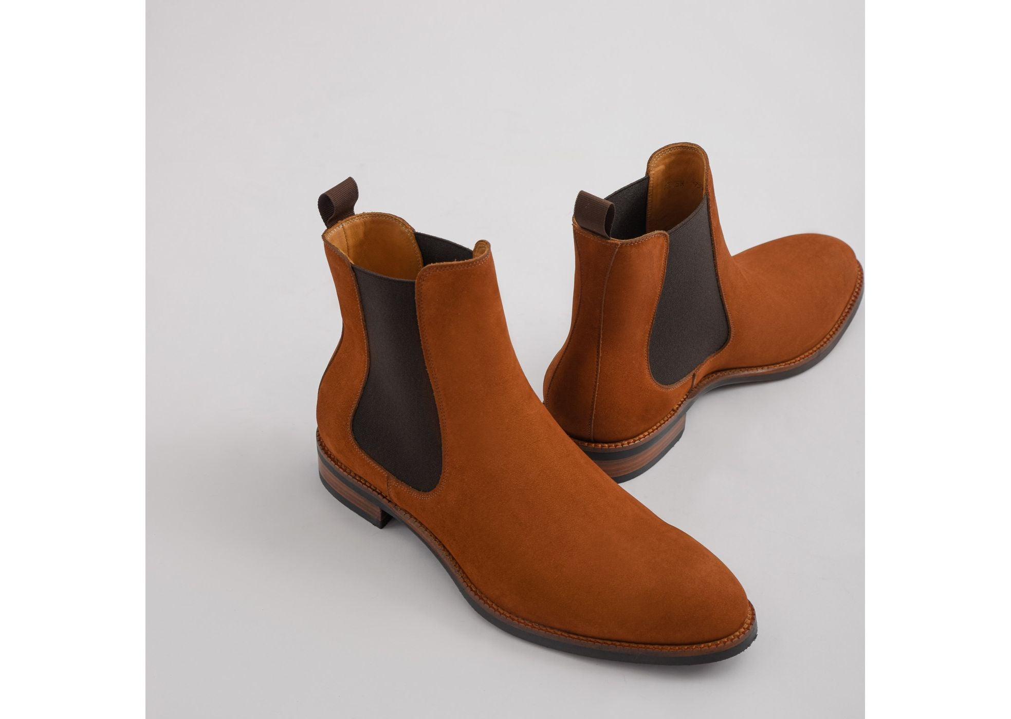 suede bolton chelsea boots