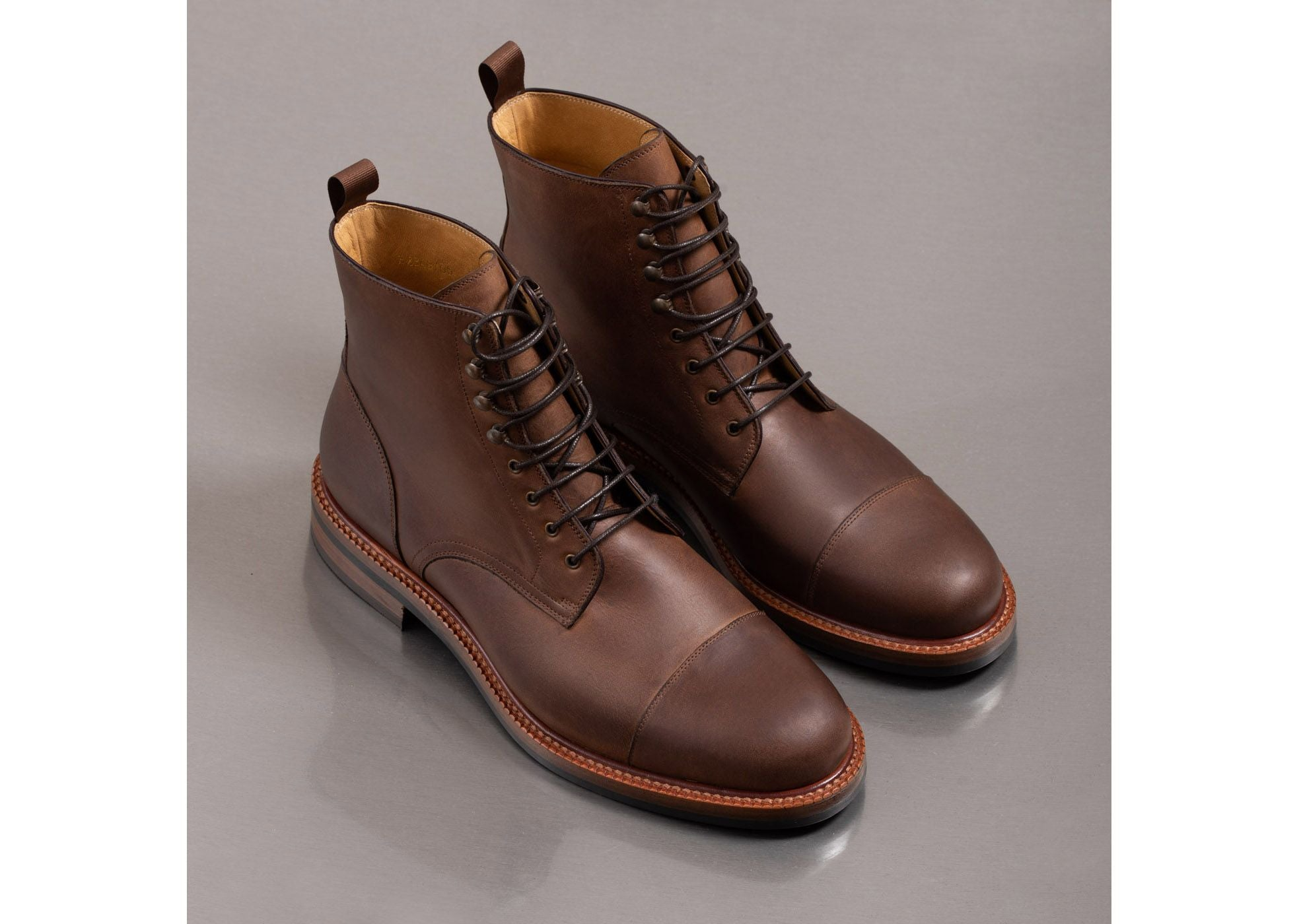 beckett simonon dowler boots pull up leather