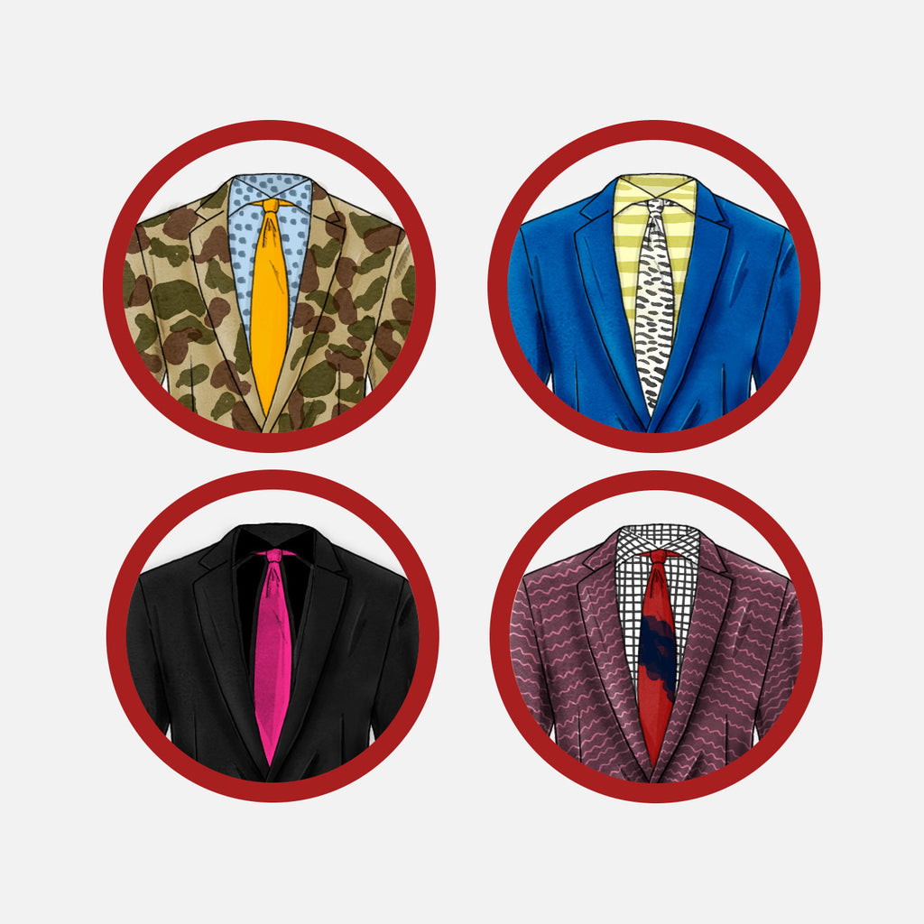 how to match suits shirts and ties bad combinations