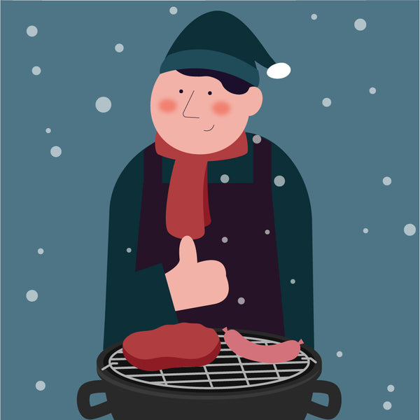 Snowy Barbecue
