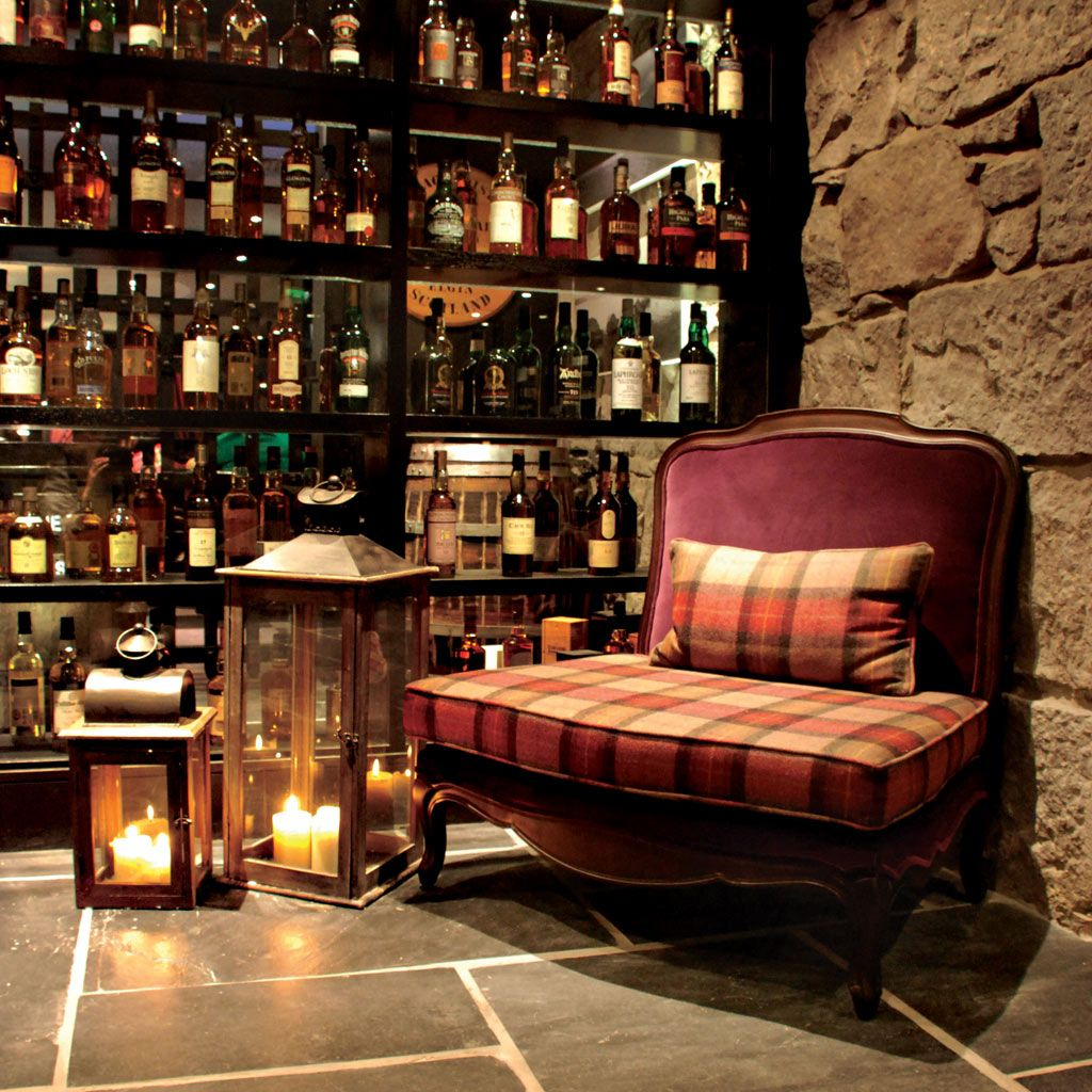 The whisky cellar