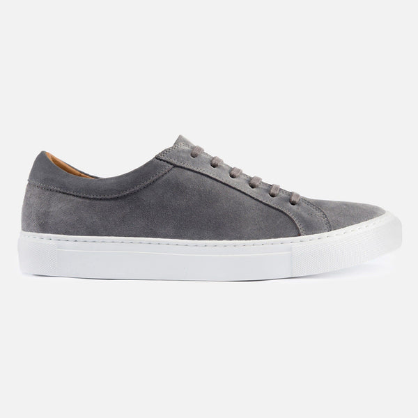 *SECONDS* Alba Low Top Sneakers - Grey Suede
