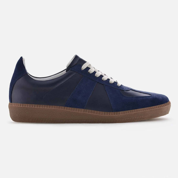 *SECONDS* Morgen trainer - Full grain Leather - Navy