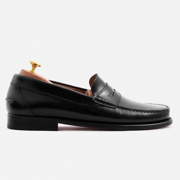 *SECONDS* Lambert Loafer - Brush Off Leather - Black