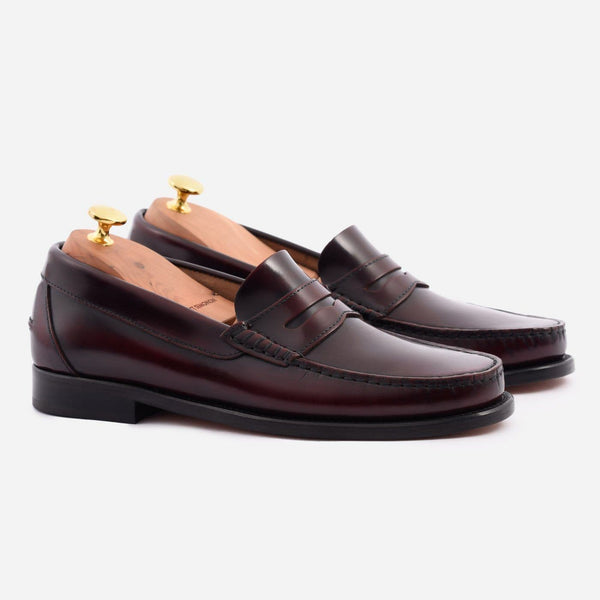 *SECONDS* Lambert Loafer - Brush Off Leather - Bordeaux