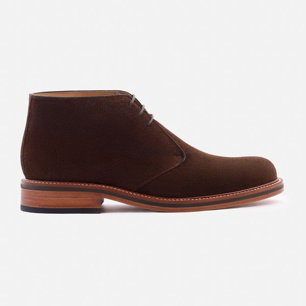 *SECONDS* Laval Chukka Boots - Water Repellent Suede - Brown