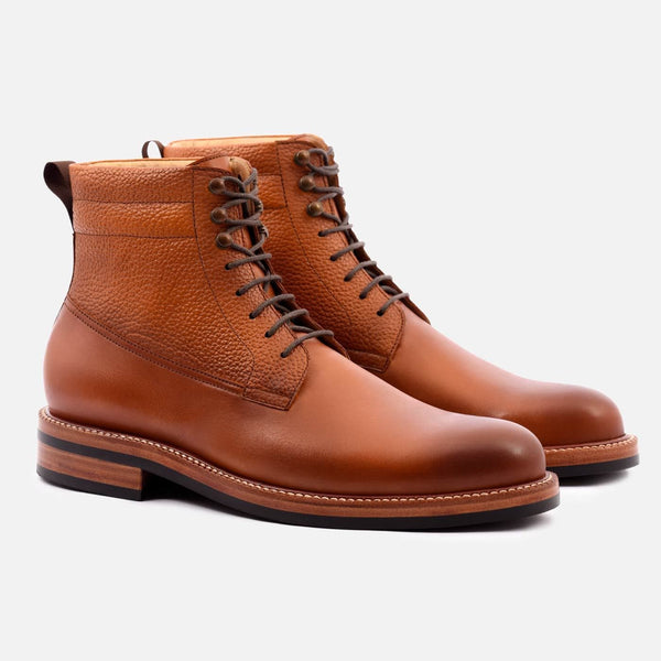 *SECONDS* Columbus Boots - Calfskin Leather - Tan