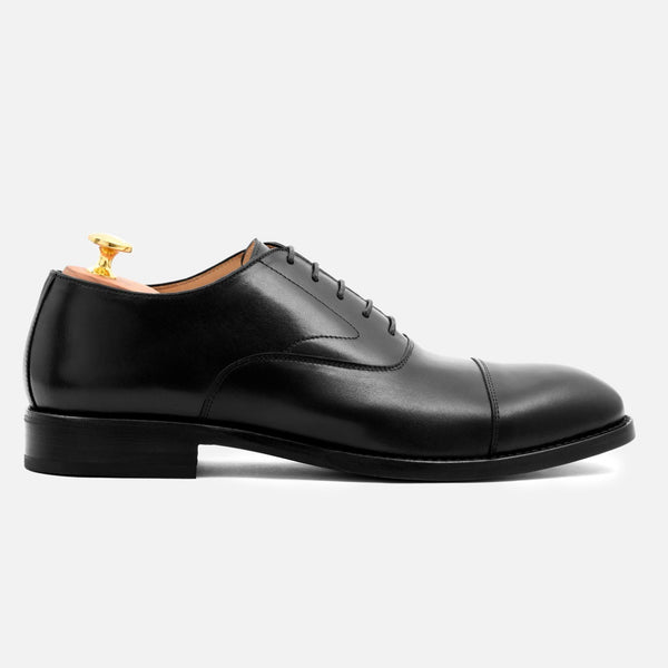 *SECONDS* Dean Oxford - Calfskin Leather - Black