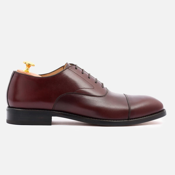 *SECONDS* Dean Oxford - Calfskin Leather - Bordeaux