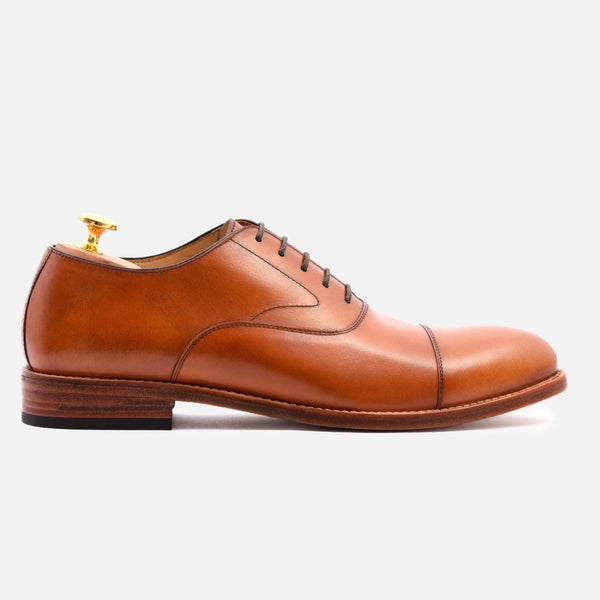 *SECONDS* Dean Oxford - Calfskin Leather - Tan