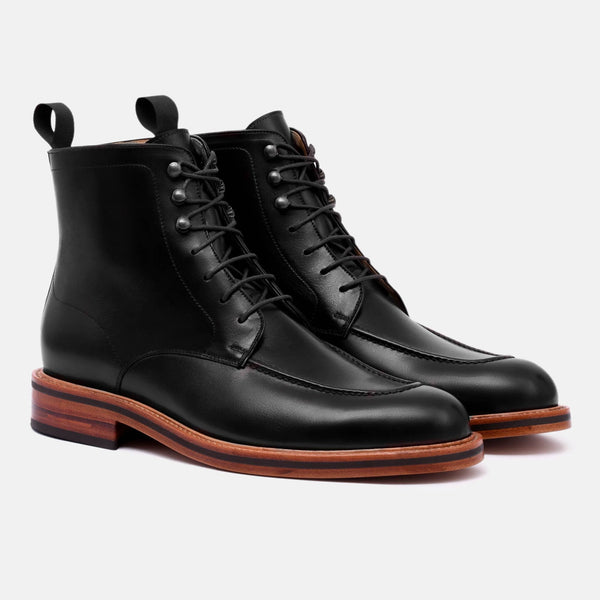 *SECONDS* Gallagher Boot - Calfskin Leather - Black