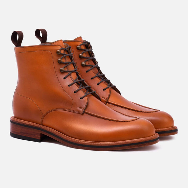 *SECONDS* Gallagher Boot - Calfskin Leather - Tan