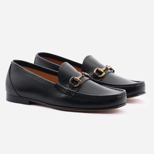 *SECONDS* Beaumont Loafer - Calfskin Leather - Black
